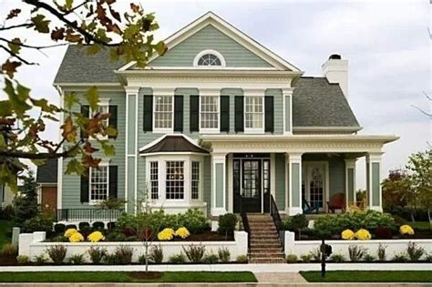 Love The Sage Green Color Siding