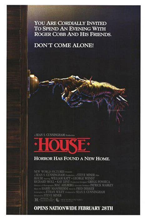 Horror Movie Posters I Love House (1986) Dirtyhorrorcom