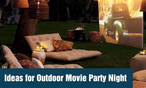 ideas  outdoor  party night outdoor  hq