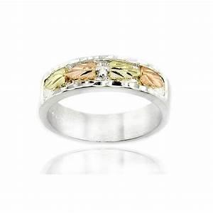 black hills sterling 12k gold wedding ring jewelryfarm With black hills wedding rings