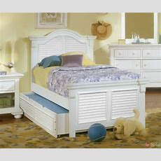 Cottage Traditional White Twin Bedroom Furniture Setfree