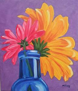 Gallery For > Easy Still Life Paintings Of Flowers ...