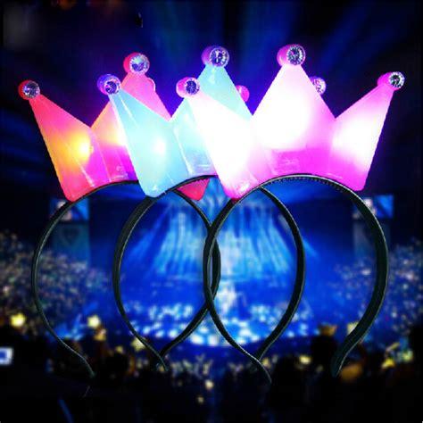 1pc light up crown headband polka dot blinking led
