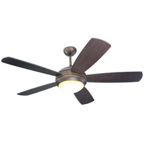 monte carlo fan monte carlo discus 52 in roman bronze ceiling fan