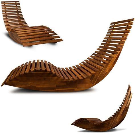 plan de chaise longue en bois transat ergonomique chaise longue en bois relax de plage jardin chaise longue