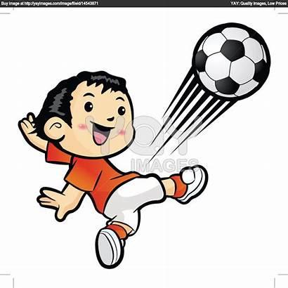 Kick Clipart Football Kicking Kicker Player Clip