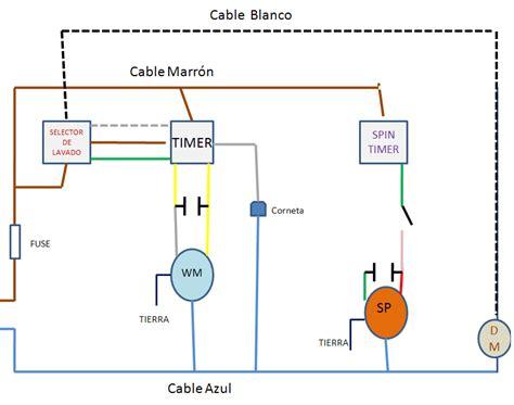 solucionado lavadora ecasa diagrama de conecciones yoreparo