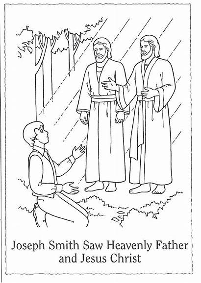 Lds Primary Clipart Vision Joseph Smith Father