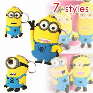 3D Despicable Me 2 Minion Cartoon Character Toy Stewart ...