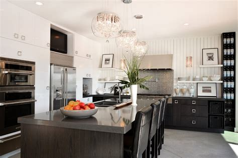 Black Chandelier Kitchen by A Great Chandelier With For Glamorous Black