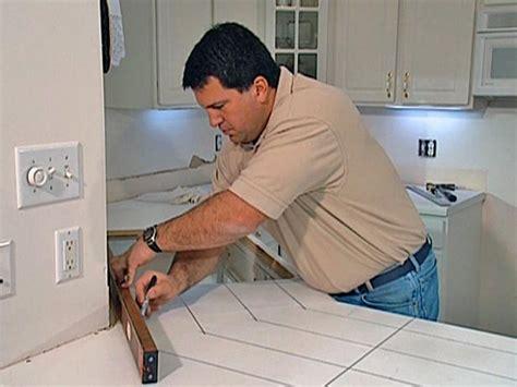 how to tile kitchen countertops laminate install tile laminate countertop and backsplash how 9584