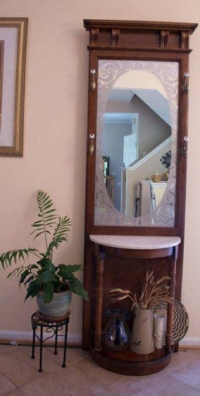 hall tree  marble top pulaski furniture   sale