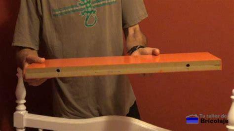 como hacer  instalar  estante  repisa flotante