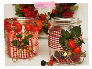 Weckgläser Weihnachtlich Dekorieren : herbstzauber dekoration mit den sch tzen der natur ~ Watch28wear.com Haus und Dekorationen