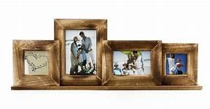 Bilderrahmen Braun Holz : fotogalerie bilderrahmen 6 fotos edler 6er bilderrahmen antik stil familienfotos kaufen bei ~ Markanthonyermac.com Haus und Dekorationen