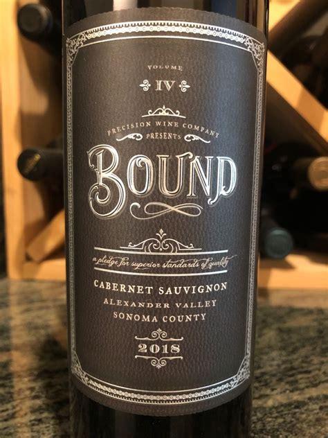 precision cabernet sauvignon bound usa california