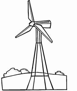 kolorowanka turbina wiatrowa kolorowanki dla dzieci do druku With wind power