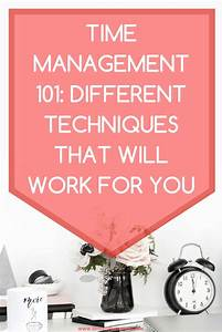 25  Best Time Management Ideas On Pinterest