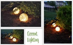 Lighting diy outdoor ideas on the ground