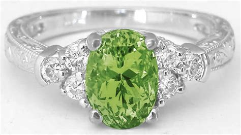Green Gemstone Rings With Vintage Engraving (gr-3106 Antiques Melbourne Florida Fairs Ireland Dublin Frederick Md Emporium Antique Mall Medford Or Raleigh North Carolina Show Best Furniture In Karachi Wood Crown Molding Auction San Marcos Tx