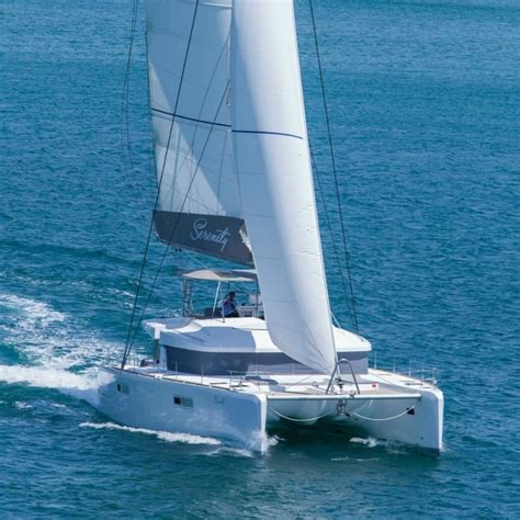 Serenity Catamaran Greece by Serenity 52 Catamaran All Inclusive Crewed Yacht Charter
