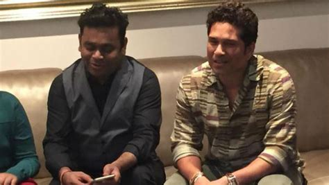 Sachin Tendulkar Hosts Ar Rahman At His House