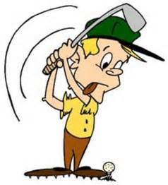 Funny Golf Cartoons Clip Art