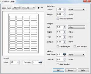 avery labels coreldraw graphics suite x4 coreldraw With avery label templates 5195