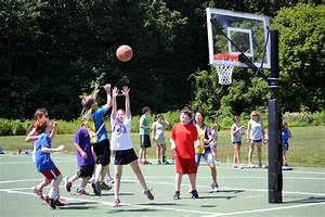 The gallery for --> Boys Playing Basketball Outside