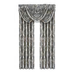 j new york palace blue curtain pair