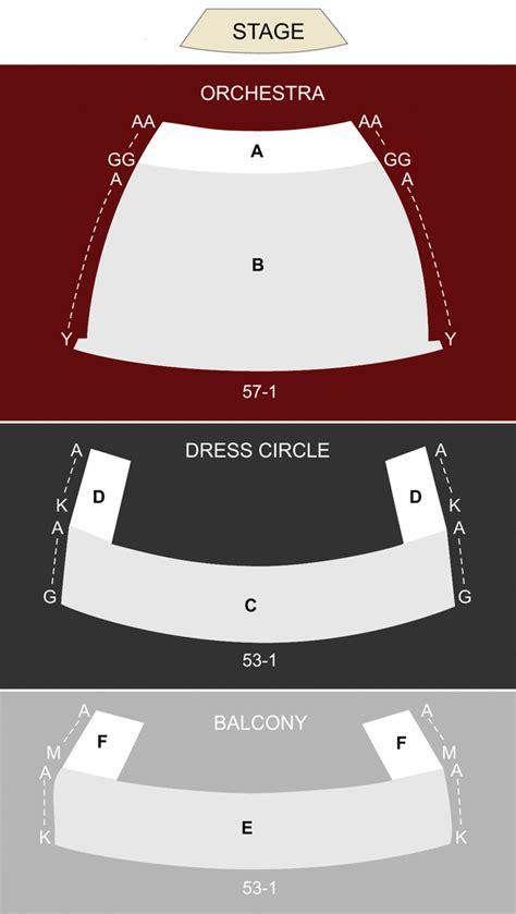 chrysler hall norfolk va seating chart stage