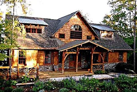 timber frame house plan design