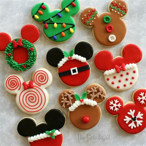 the partiologist disney themed cookies