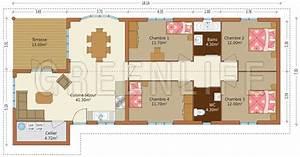 maison ossature bois eva maison bois greenlife With faire un plan de maison 2 une maison en ossature bois detail du plan de une maison