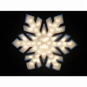 Northlight, 20, In, Lighted, Snowflake, Christmas, Window, Silhouette, Decoration, 4