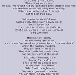 california lyrics hotel california lyrics eagles ghost song ghostly ...