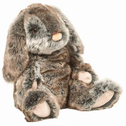 Bunny Stuffed Lux Animal Fluffy Brown Easter