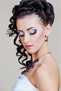 Glamouröse Locken Frisuren für die Hochzeit
