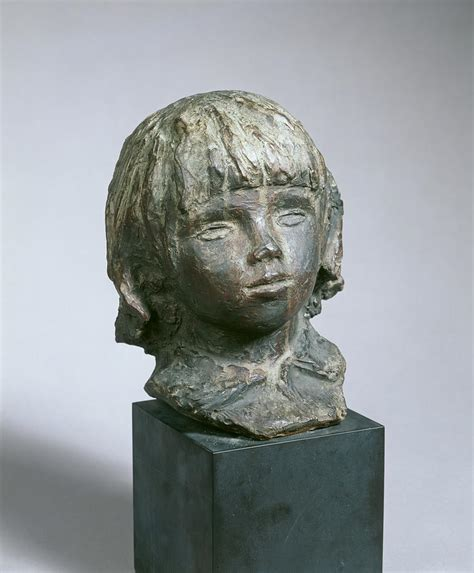 Claude Renoir Coco Sculpture By Auguste Renoir