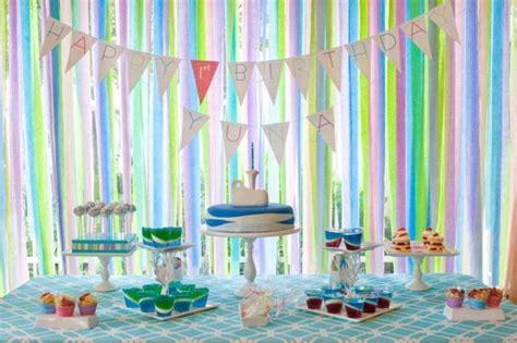 crepe paper decorations  celebration society