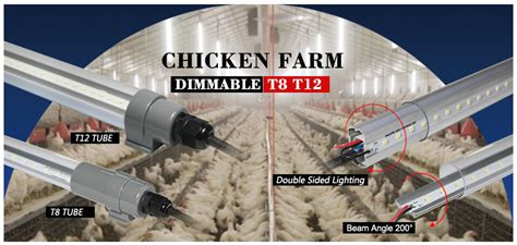 broiler poultry lighting poultry barn waterproof