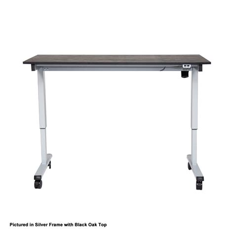 luxor 48 electric standing desk luxor stande 48 bk bo 48 electric standing desk black