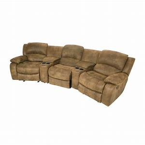 Seats Sofas : 87 off raymour and flanigan raymour and flanigan theater seating couch sofas ~ Eleganceandgraceweddings.com Haus und Dekorationen