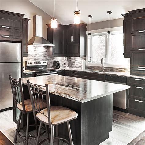 cuisine stratifié ou mélaminé cuisines beauregard cuisine réalisation 357 armoires