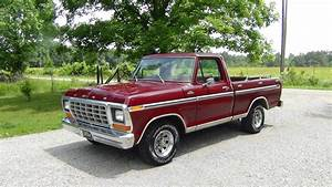 All American Classic Cars  1979 Ford F100 Ranger Pickup Truck