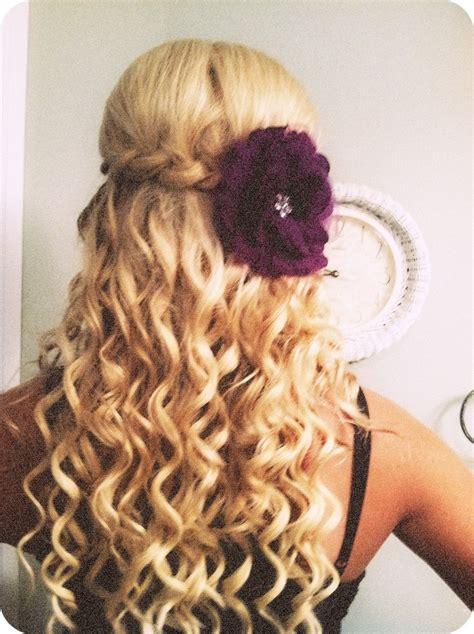 poof braid curl cute hairstyles colors pinterest my