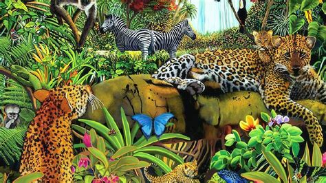 Animal Scenery Wallpaper - animal scenery drawing learn how to draw a scenery of zoo
