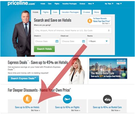 getting the best hotel room deals with priceline