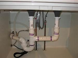 Plumbing An Ikea Domsjo 36 U2033 Double Sink