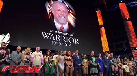 Tribute The Memory Ultimate Warrior Raw